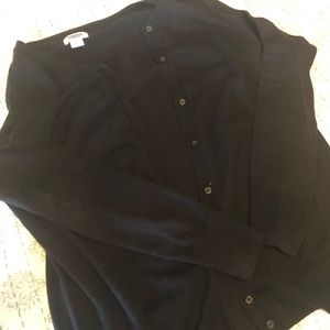 Sweaters - Black maternity cardigan xs old navy